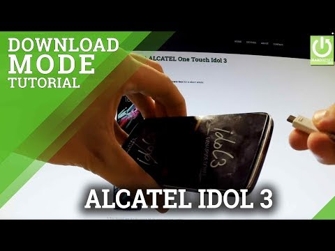 Download Mode ALCATEL 9003A OneTouch PIXI 4 (7) 3G - HardReset info