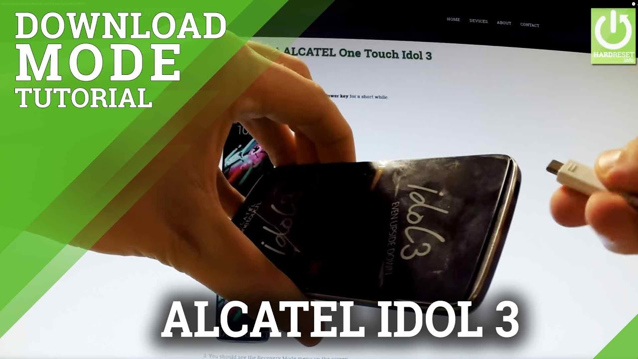 Download Mode ALCATEL One Touch Idol 3 6045Y - HardReset info