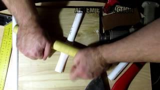чехол для топора из 2х кусков ПВХ
