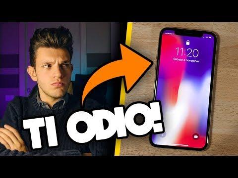 Io DISPREZZO davvero Apple iPhone X?! - La verità