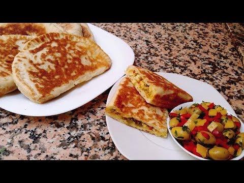 sandwich-✔-à-la-dinde-en-15-min-recette-du-pain---cuisine-marocaine-184