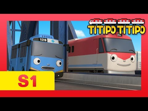 TITIPO S1 EP15 l Can Titipo & Tayo run on the same road?! l TITIPO TITIPO