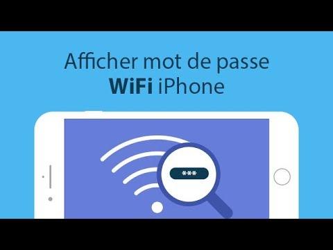 Comment Afficher Le Mot De Passe WiFi IPhone