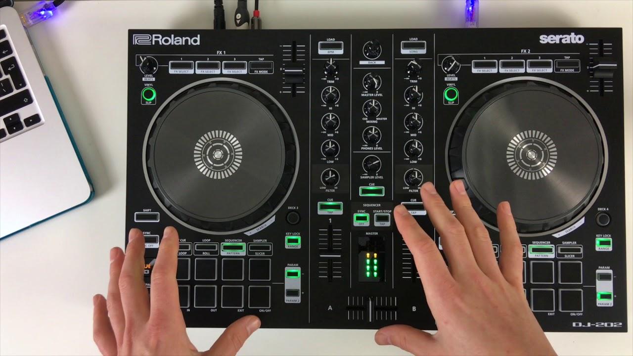 SERATO ROLAND DJ-202