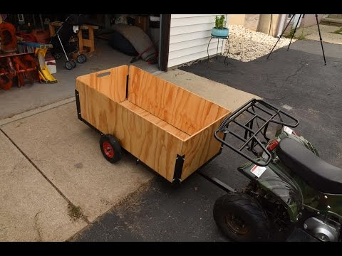 Building a Trailer For My Son's ATV