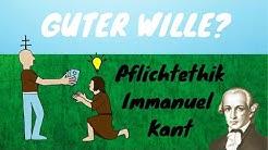 Die Pflichtethik von Immanuel Kant