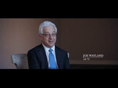 2017 Distinguished Alumni: Joe Wayland