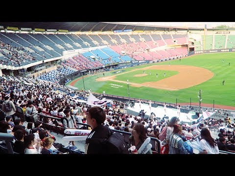 OUR FIRST KOREAN BASEBALL GAME EXPERIENCE / VLOG 13