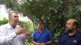 Visita a Finca Rosa Blanca con productores de Sarapiquí