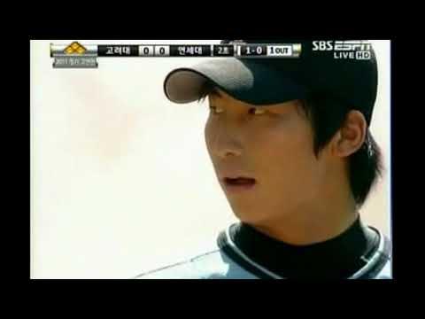 2011년 연고전 야구 나성범,이성곤vs윤명준,문승원,박세혁