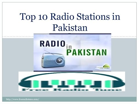 Top 10 Radio Stations in Pakistan