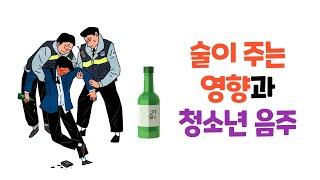 [청소년음주예방교육] 술의 긍정적, 부정적 영향과 예방…