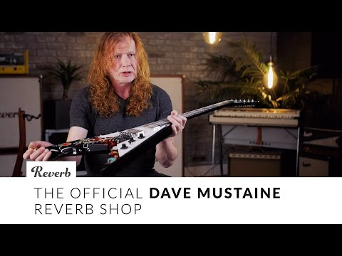 Megadeth's Dave Mustaine to Sell Guitars, Music Gear From Throughout Career