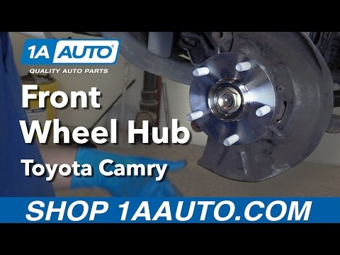 How to Replace Install Front Wheel Hub 92-01 Toyota Camry Buy Quality Auto Parts from 1AAuto.com