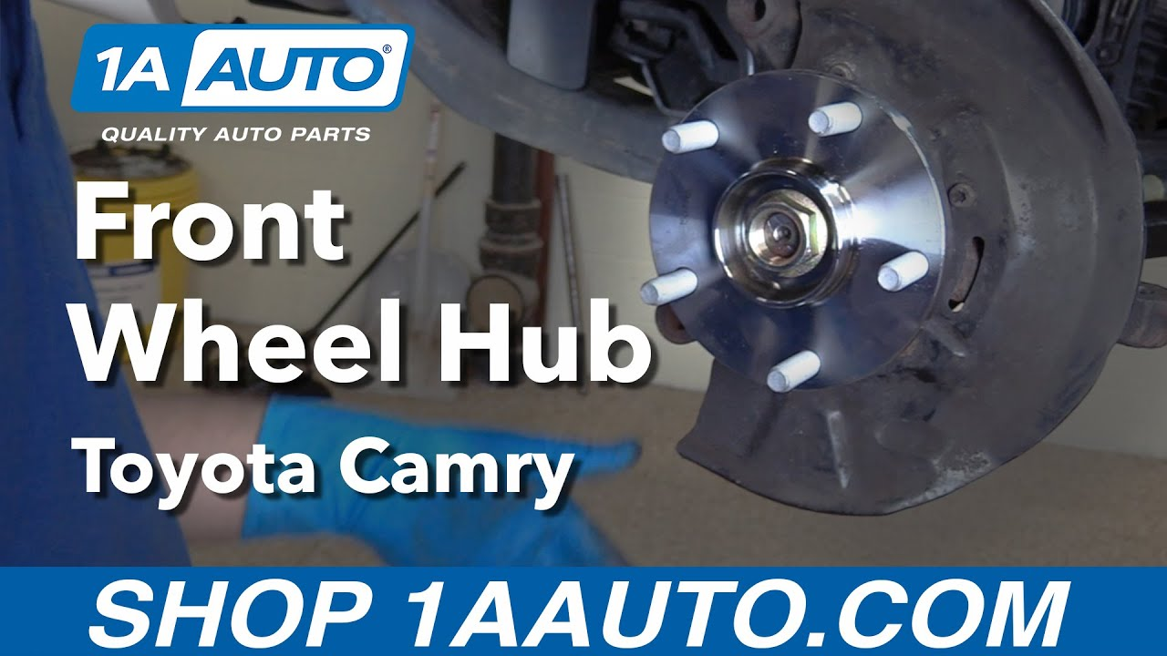 hight resolution of how to replace front wheel hub 92 01 toyota camry