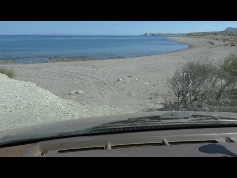 Free Beach Front Camping in Baja Mexico 2016