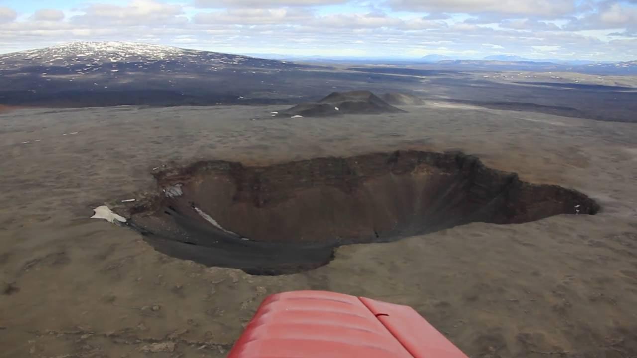 Strange hole in the ground