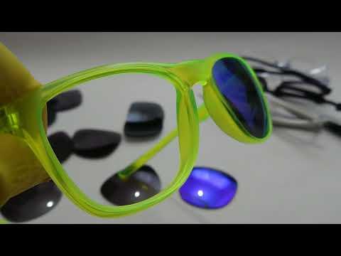 Oakley Sunglasses Lens Popping 💓 #ASMR Trillbe X video