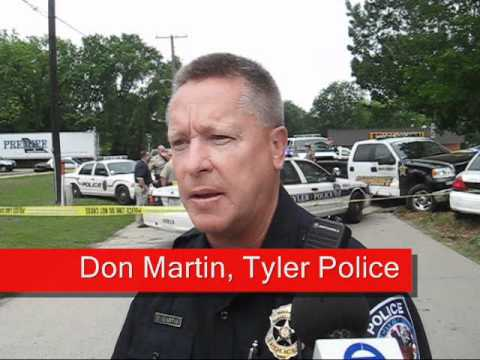Tyler Police Car Stolen; Chase Ends In Chandler, Texas