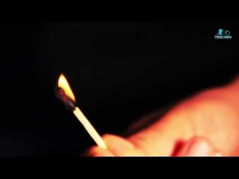 Match burning slow