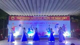 Văn Nghệ Lớp 12A1 CS1 - Trường Nam Việt - Hát Múa Thư Pháp