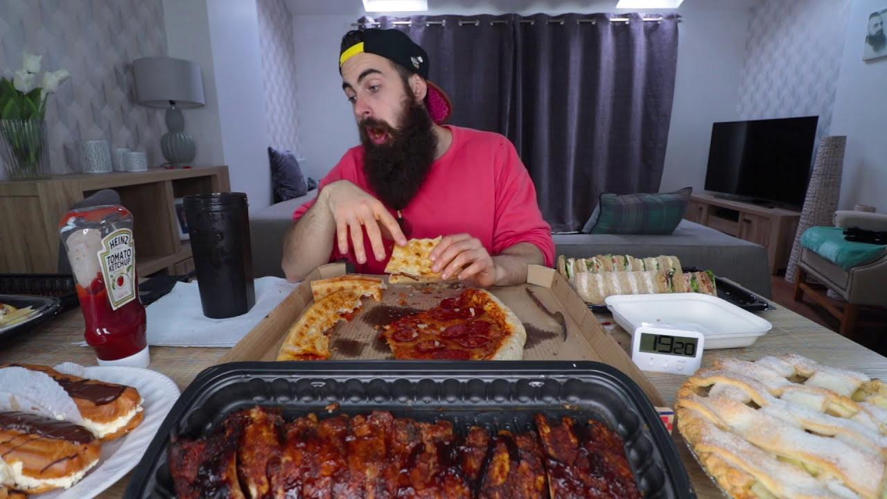 The Ultimate Costco Banquet (14,800 Wholesale Calories) | BeardMeatsFood