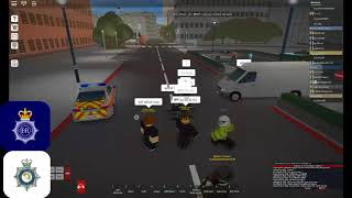 Roblox London I Van pursuit I SC019 UK The British way