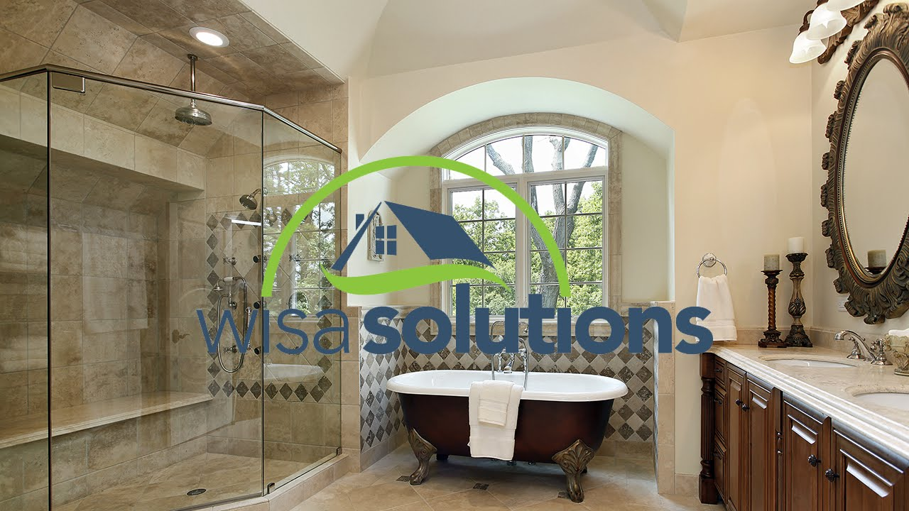 Bath Remodeling Northern Virginia bathroom remodeling northern virginia | wisa solutions - youtube