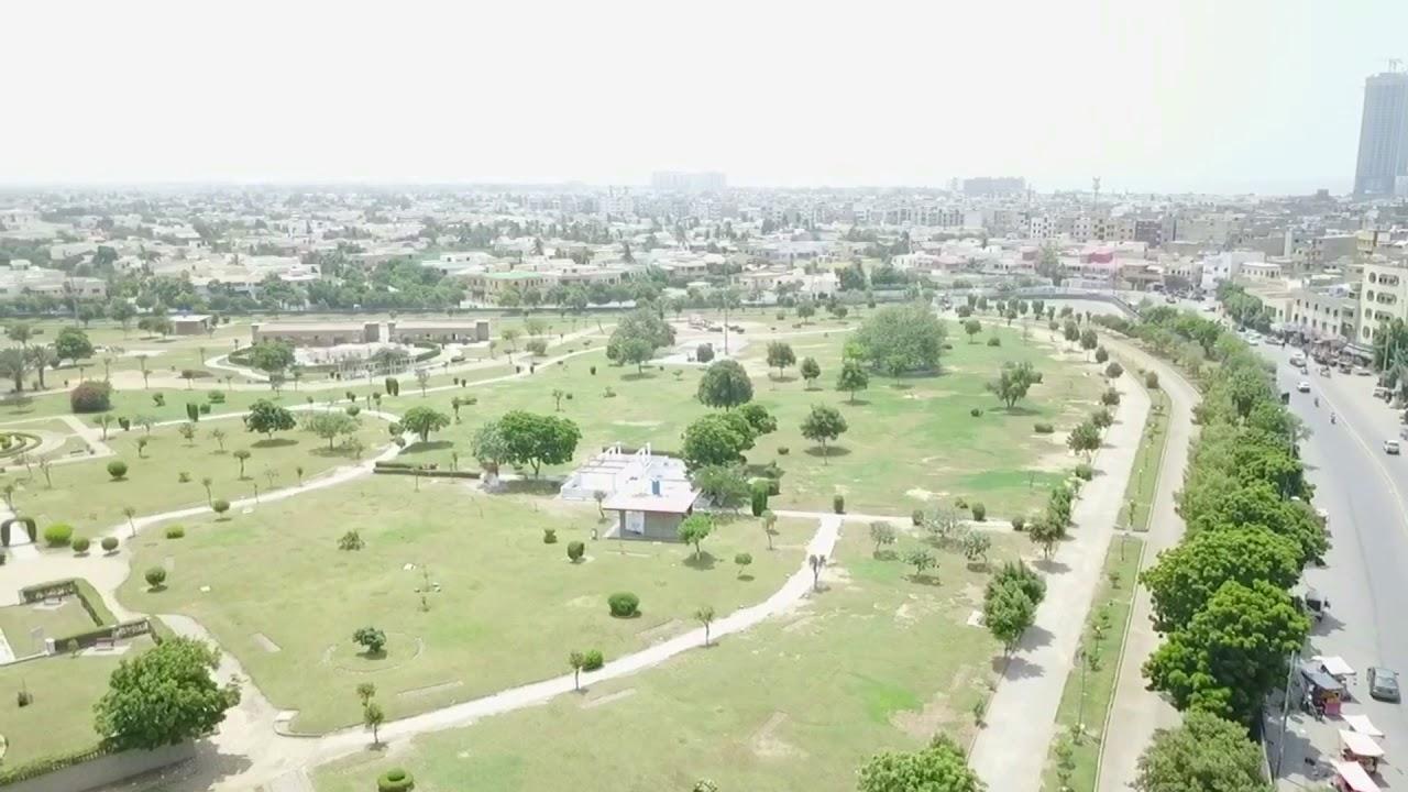 zamzama park karachi