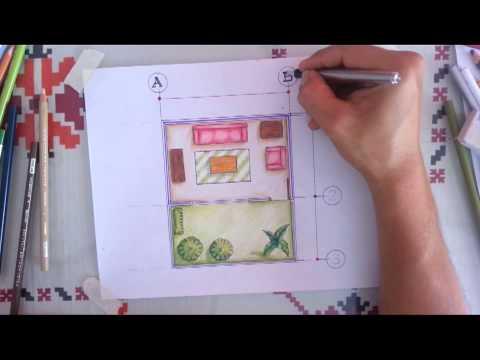 Tutorial dibujo arquitectonico 8 ejes cotas