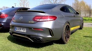 Mercedes C63 S AMG Coupe 750 HP MANHART Racing! EXTREMELY LOUD!
