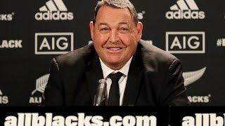 All Blacks World Cup press conference