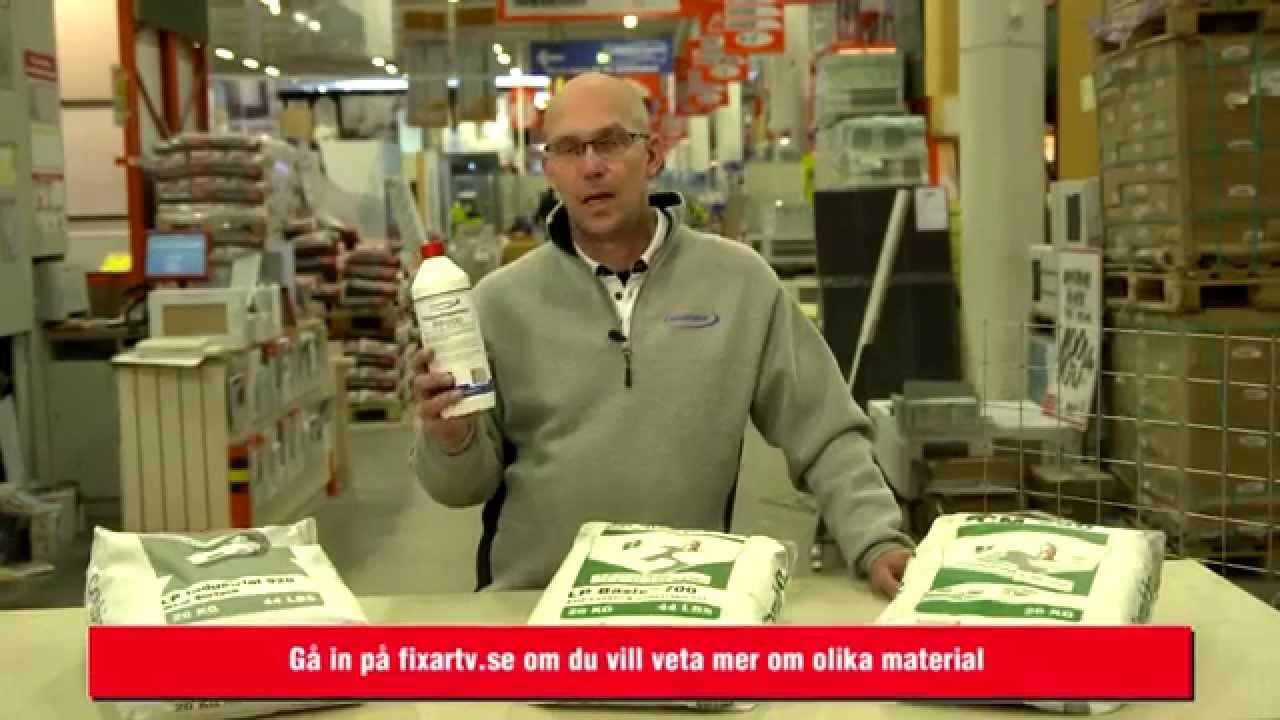 FixarTV | Material | Välj Rätt Flytspackel - YouTube