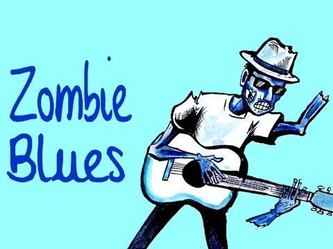 Zombie Blues - speed drawing feat. Nice Peter, Gwatsky & Dante