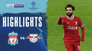 Liverpool 2-0 RB Leipzig   Champions League 20/21 Match Highlights HK