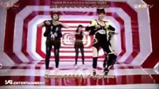 fire - 2ne1 karaoke / instrumental