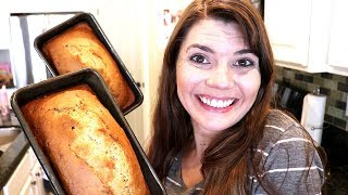 NEW RECIPE / BANANA NUT BREAD / STAY AT HOME MOM
