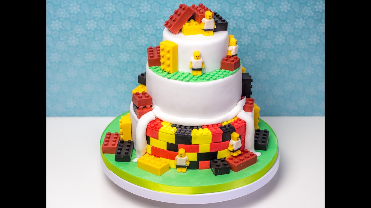 Lego Torte  Fuball Torte  Torten stapeln  YouTube