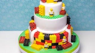 Lego Torte / Fußball Torte / Torten stapeln