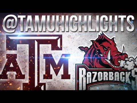 Texas A&M Highlights vs Arkansas 9-24-2016 ᴴᴰ