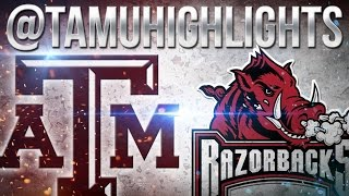 Texas A&M Highlights vs Arkansas 9-24-2016 ᴴᴰ