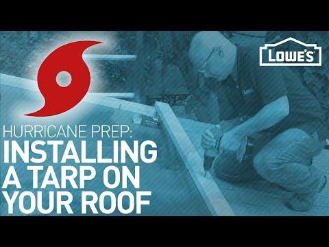 How to Tarp a Roof | HURRICANE PREP