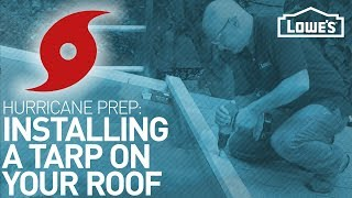 How To Tarp A Roof - Hurricane Preparedness
