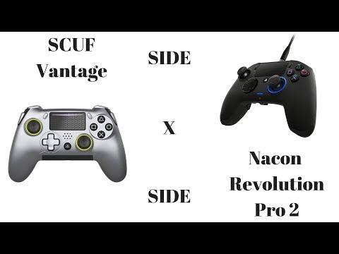SCUF Vantage x Nacon Revolution Pro 2Quick Side by Side Comparison