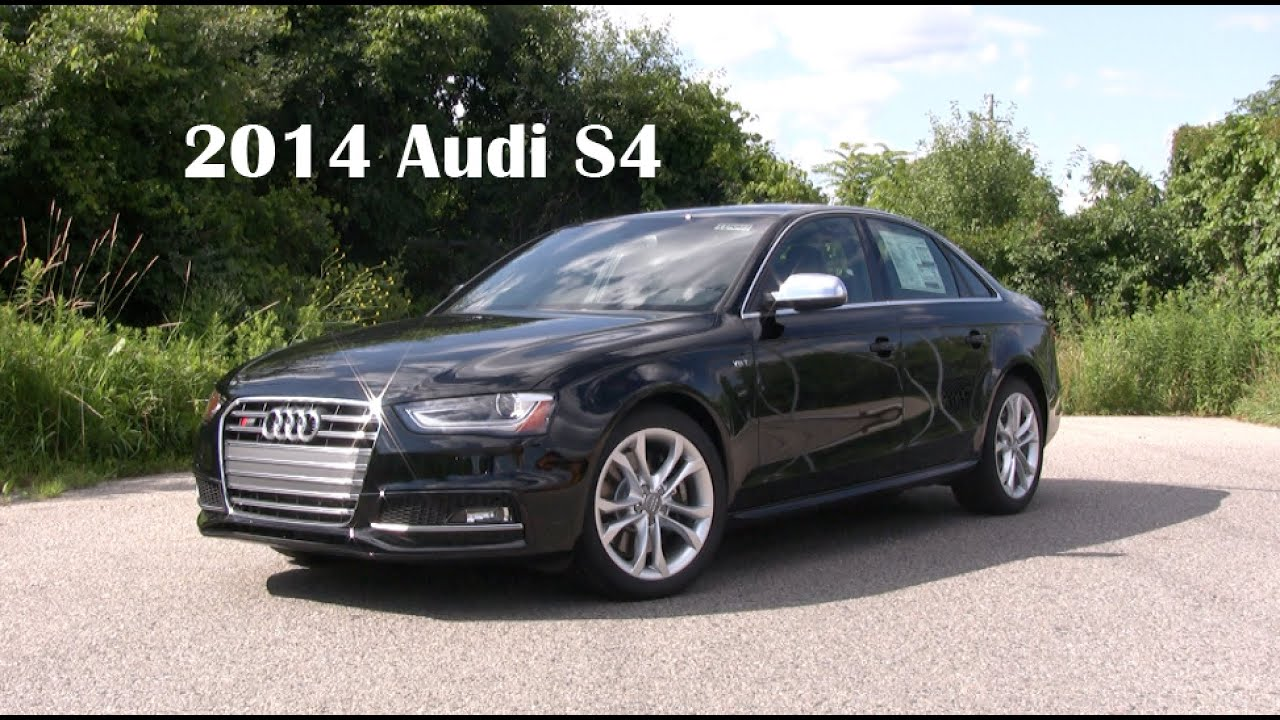 2014 Audi S4 Road Test and Review - YouTube