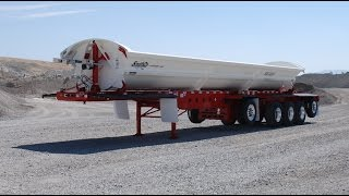 SMITHCO 5-Axle Super Side Dump Trailer