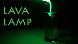 LAVA LAMP Chemistry Experiment