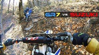 Какой эндуро мотоцикл лучше? Сравнение GR7 2t и Suzuki TS200R в боевых условиях!