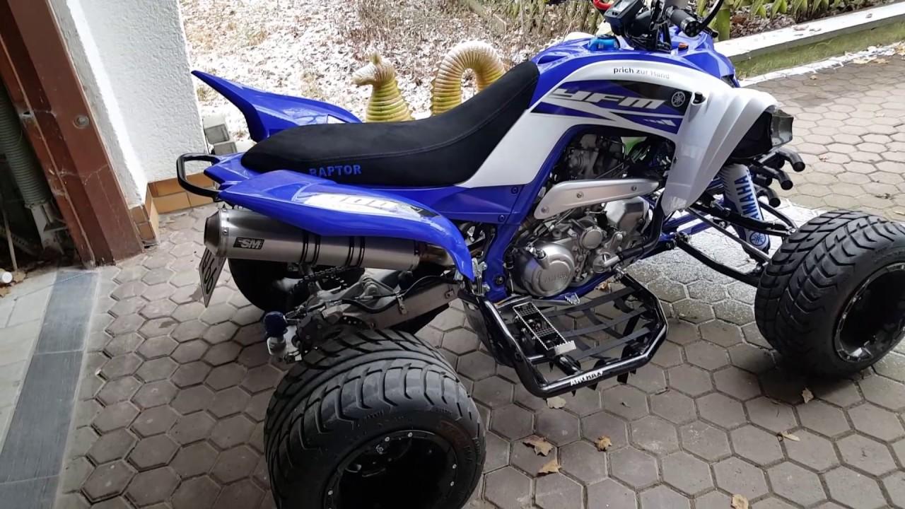 Auspuff Yamaha Raptor YFM 700 R mit ABE