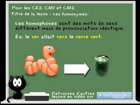Français orthographe facile des homonymes : cent sang | Doovi